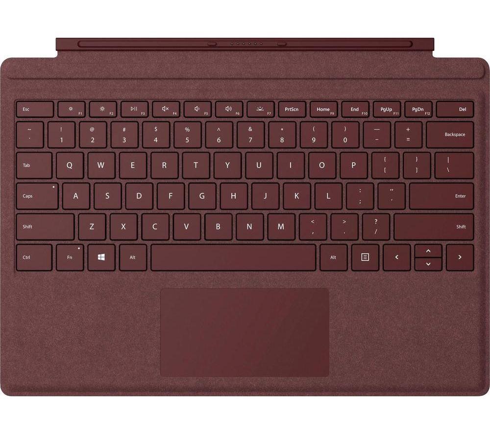MICROSOFT Surface Pro Typecover - Alcantara Burgundy