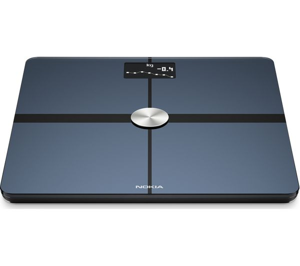Cheap Bathroom Scales Free Delivery: Buy NOKIA BODY+ Smart Scale - Black
