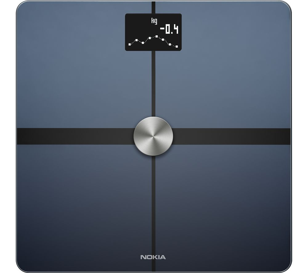 NOKIA BODY+ Smart Scale - Black