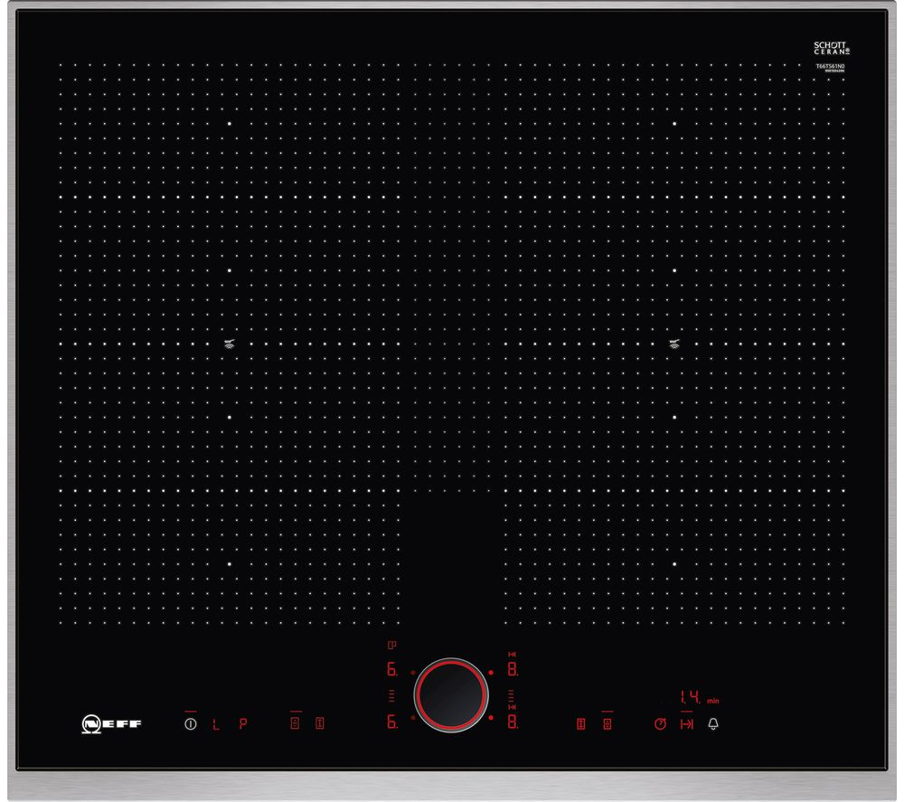 NEFF T66TS61N0 Electric Induction Hob - Black