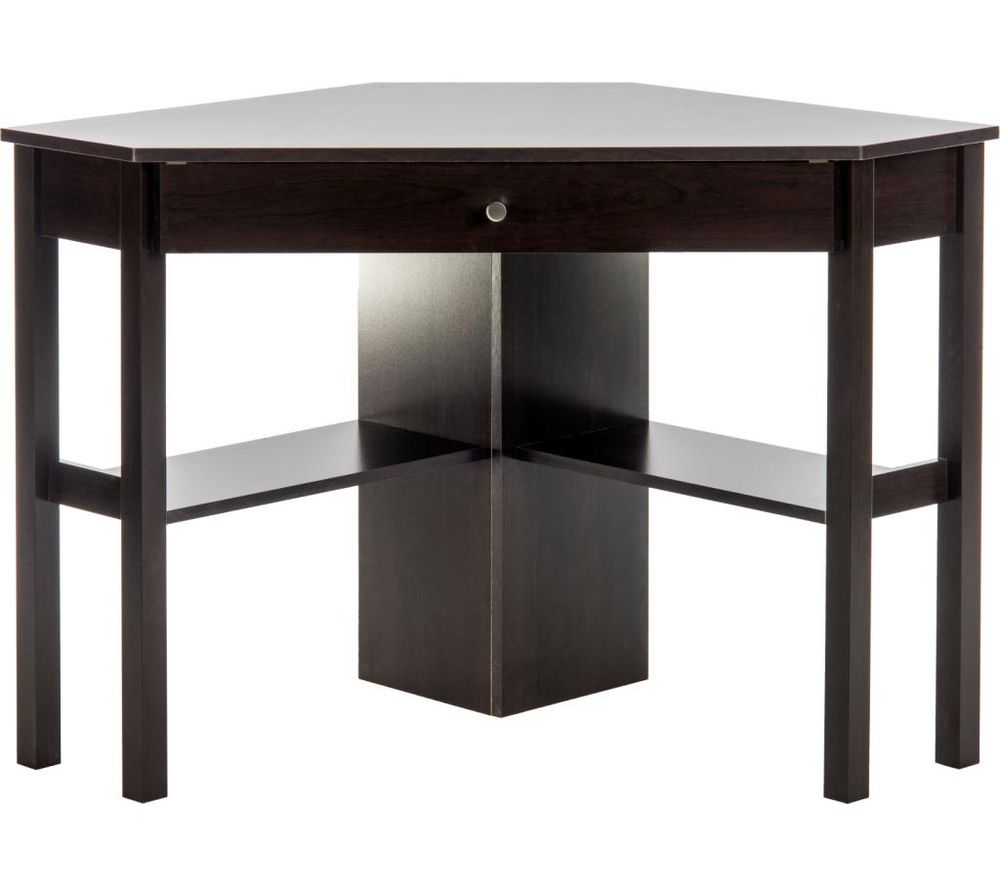 Compare prices for Teknik Corner 5412314 Desk Cinnamon Cherry