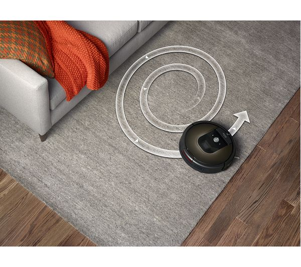 9204970d914 IROBOT Roomba 980 Robot Vacuum Cleaner - Black Fast Delivery