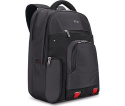 "SOLO Aegis Stealth 15.6"" Laptop Backpack - Black"