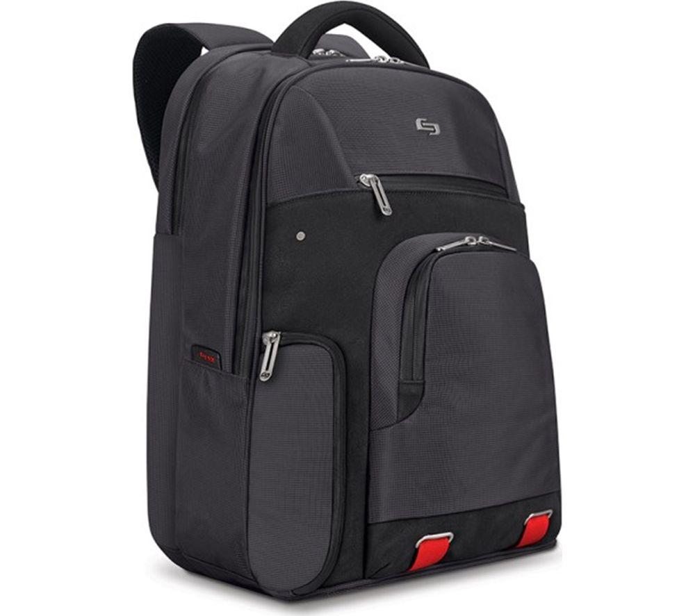 "SOLO Aegis Stealth 15.6"" Laptop Backpack - Black"