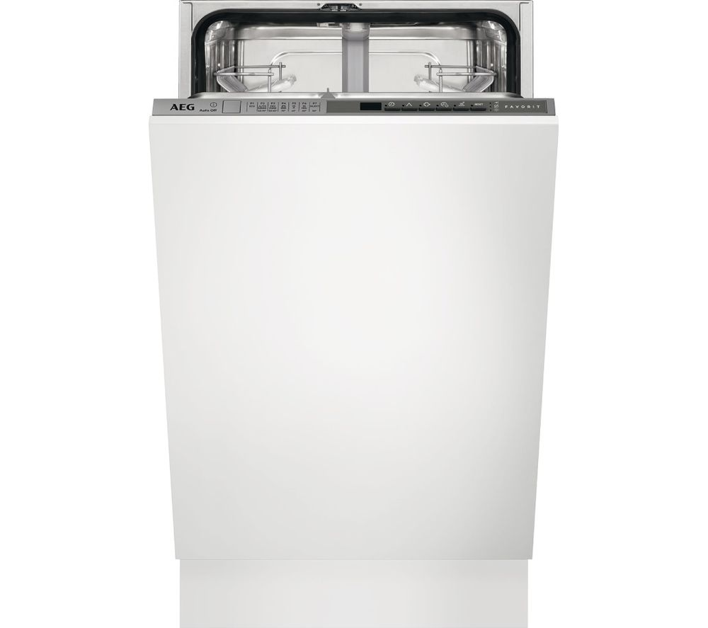 AEG AirDry Technology FSS63400P Slimline Integrated Dishwasher