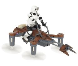 PROPEL Star Wars Battling 74-Z Speeder Bike Drone with Controller