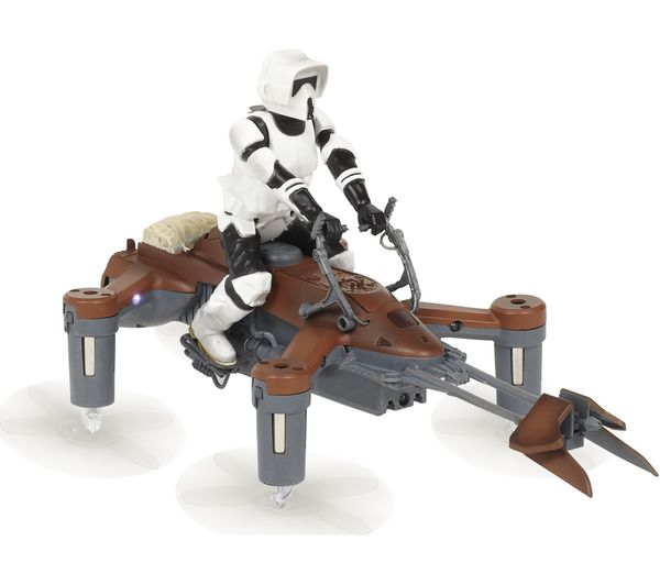 Image of PROPEL Star Wars Battling 74-Z Speeder Bike Drone with Controller