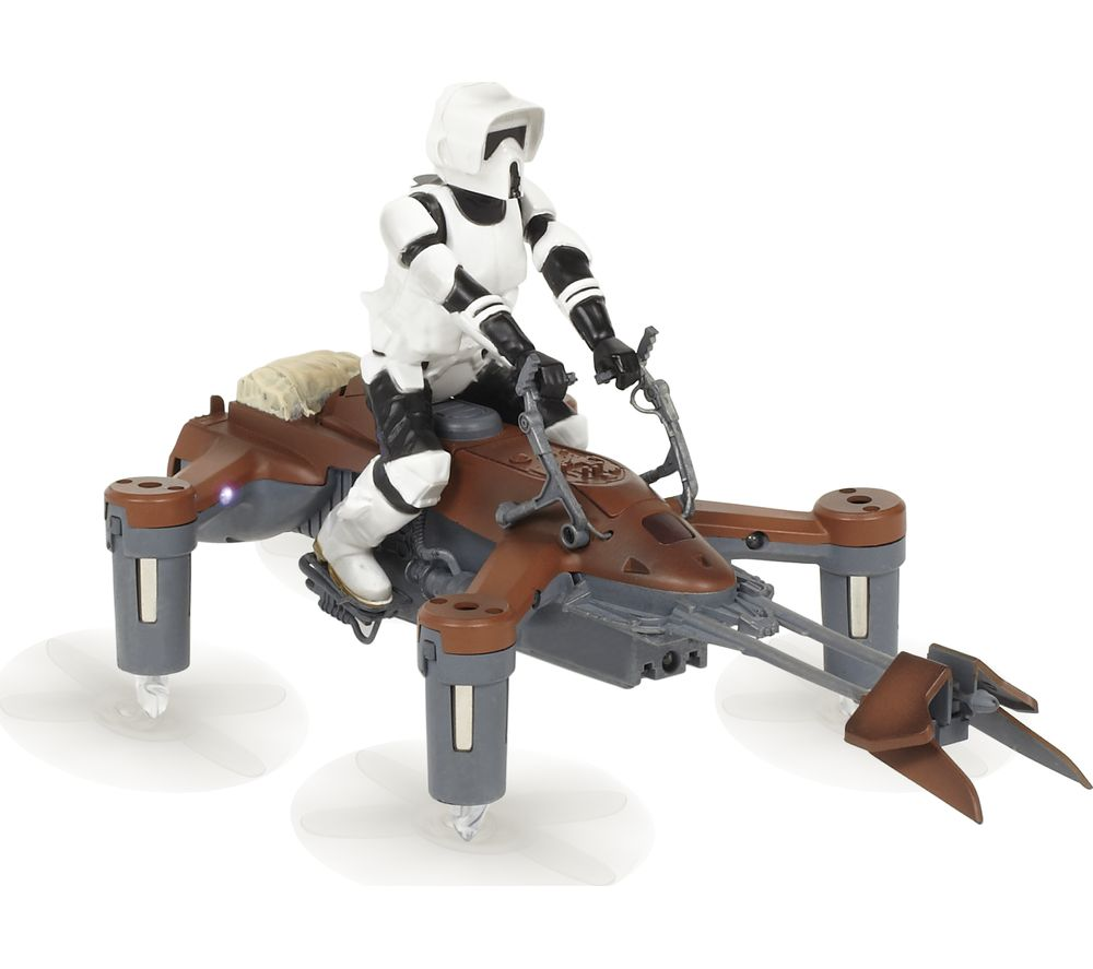 PROPEL Star Wars Battling 74-Z Speeder Bike Drone with Controller