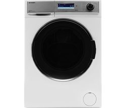 SHARP ES-HDD0147W0 10 kg Washer Dryer - White