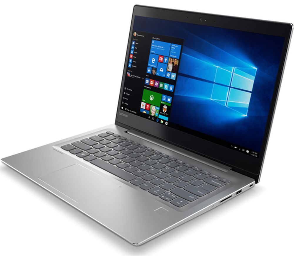 "Image of LENOVO IdeaPad 520s 14"" Intel® Core™ i5 Laptop - 128 GB SSD, Grey, Grey"