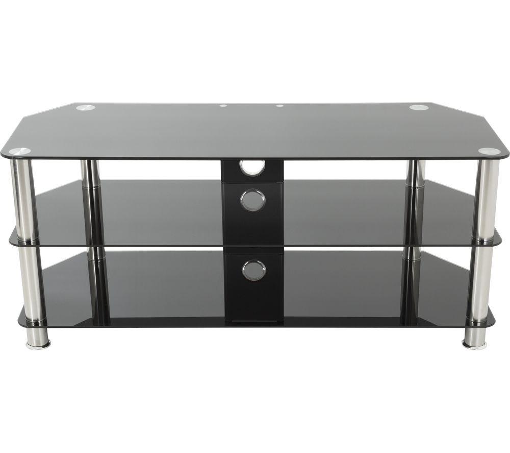 AVF SDC1140CM TV Stand - Black & Chrome