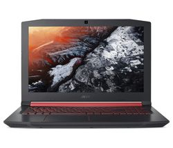 "ACER Nitro 5 15.6"" Intel® Core™ i5 GTX 1050 Gaming Laptop - 1 TB HDD & 256 GB SSD"