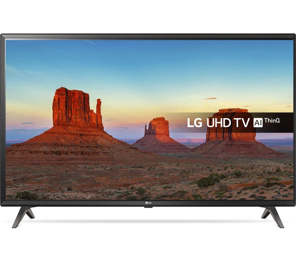 """LG 43UK6300PLB 43"""" Smart 4K Ultra HD HDR LED TV"""
