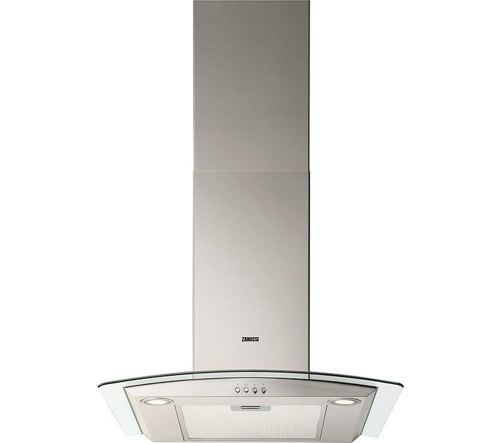 ZANUSSI ZHC6235X Chimney Cooker Hood – Stainless Steel, Stainless Steel