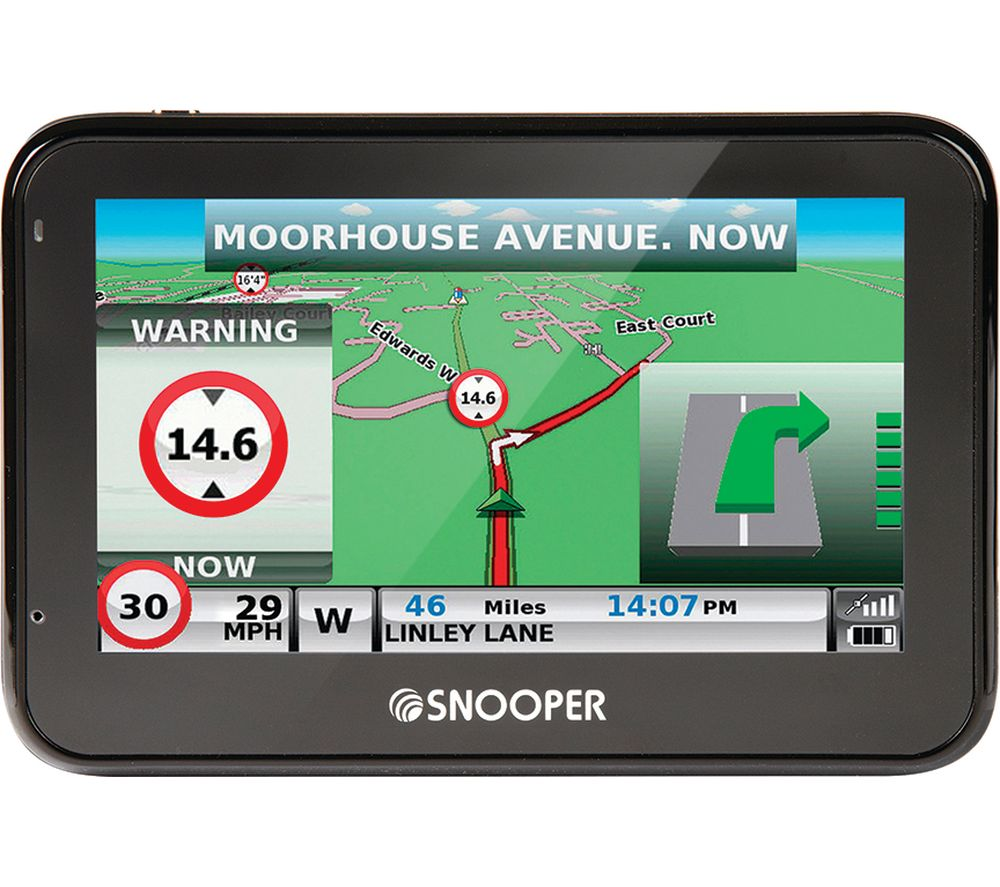 "SNOOPER Truckmate S2700 4.3"" HGV Sat Nav - Full Europe Maps"