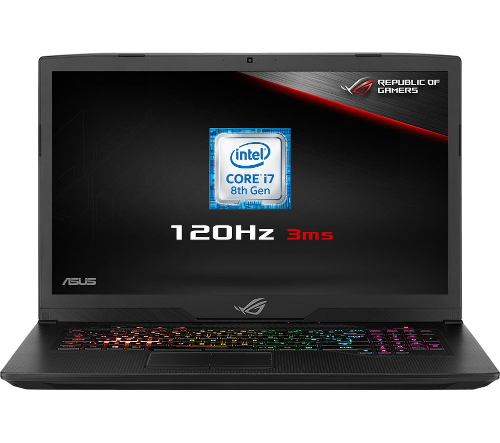 "ASUS ROG Strix GL703GM 17.3"" Intel® Core™ i7 GTX 1060 Gaming Laptop - 1 TB HDD & 128 GB SSD"