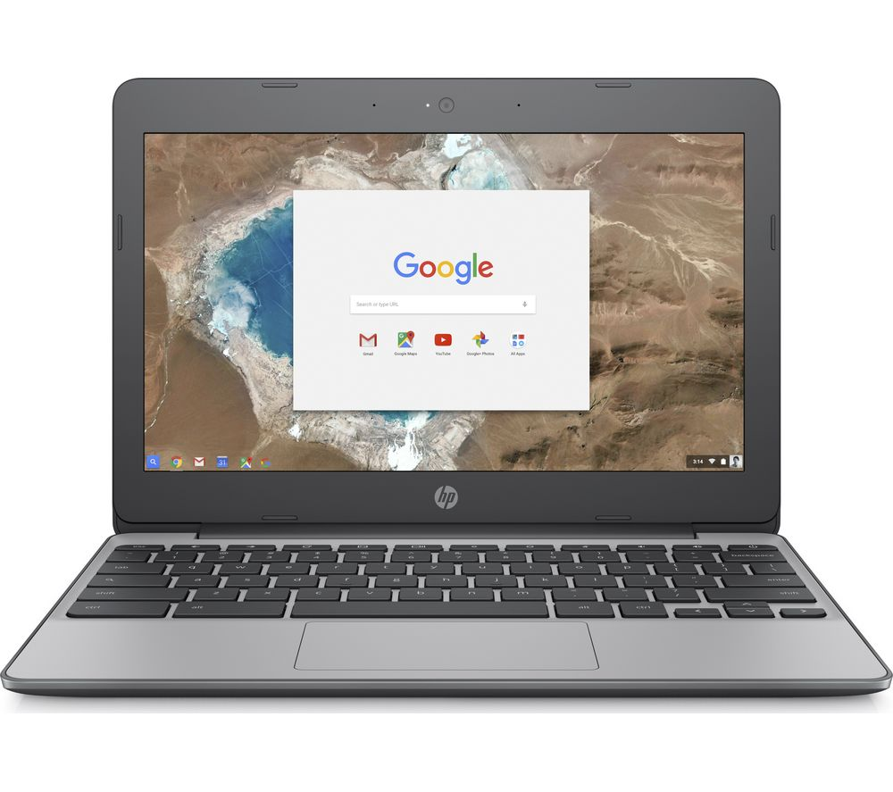 "HP 11-v051na 11.6"" Intel® Celeron™ Chromebook - 16 GB eMMC, Grey"