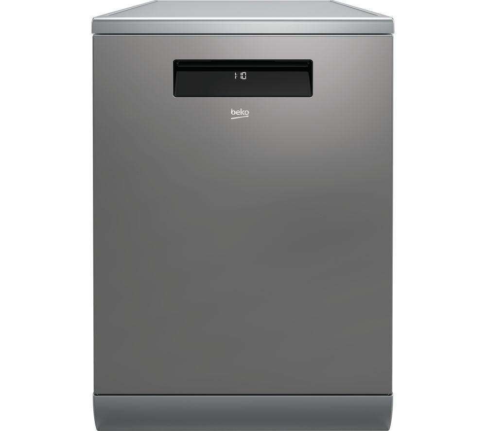 BEKO Pro DEN48X20X Full size Dishwasher - Stainless Steel