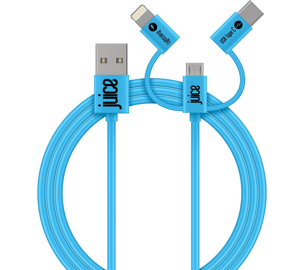 JUICE 3-in-1 USB Cable - 1 m