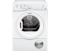 HOTPOINT Aquarius TCFS 93B GP 9 kg Condenser Tumble Dryer - White