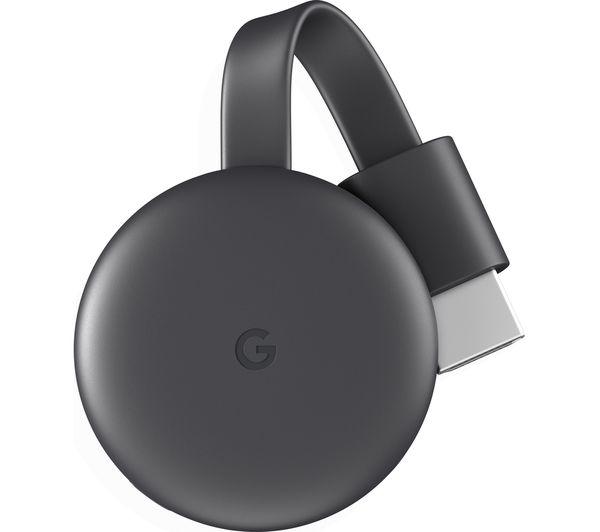 Image of GOOGLE Chromecast - Third Generation, Charcoal
