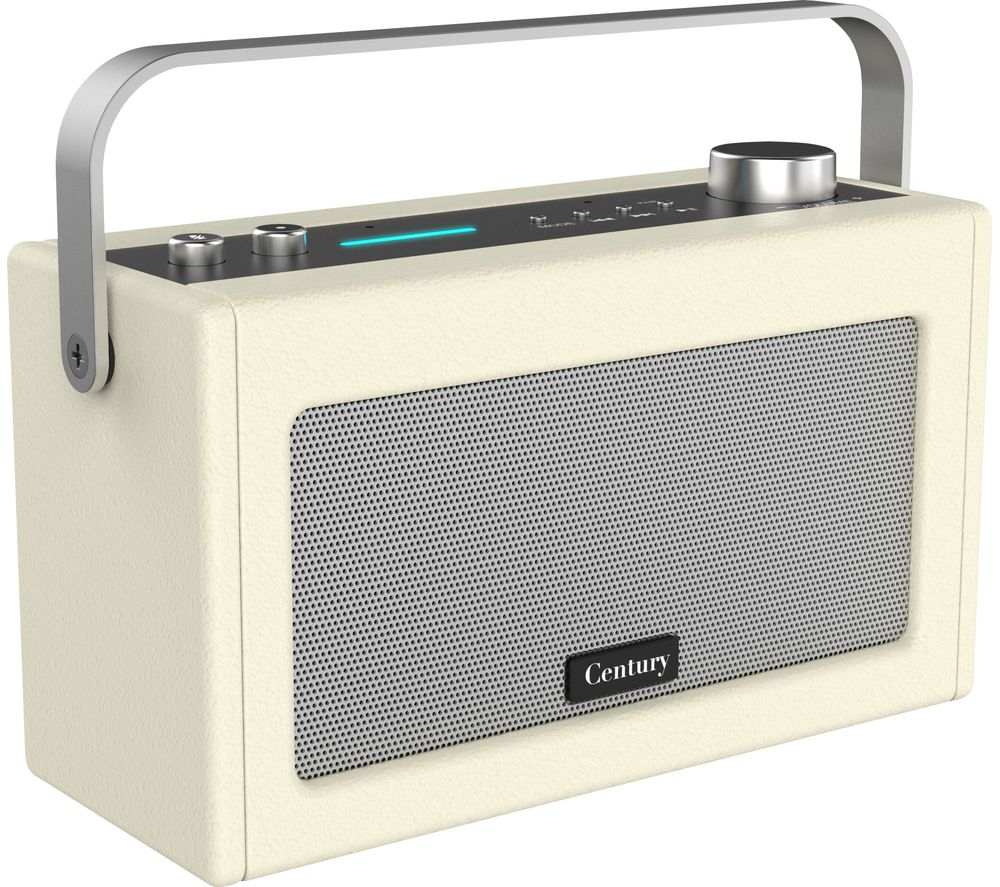 Image of I-BOX Century Wireless Voice Controlled Speaker - Cream, Cream