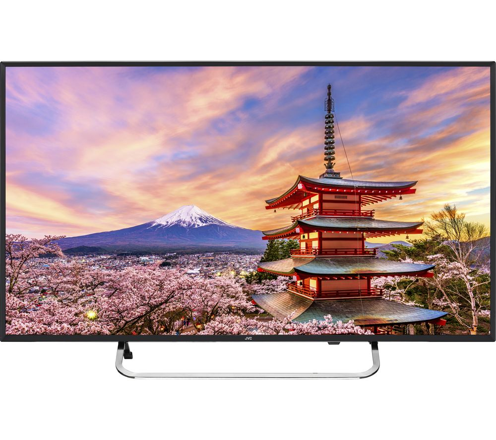 "Image of 40"" JVC LT-40C590 Full HD LED TV - Black, Black"