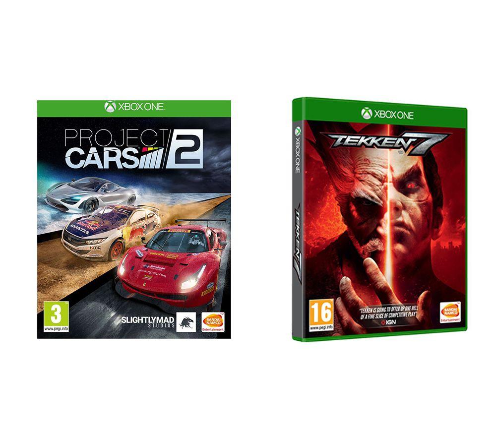 XBOX ONE Tekken 7 & Project Cars 2 Bundle