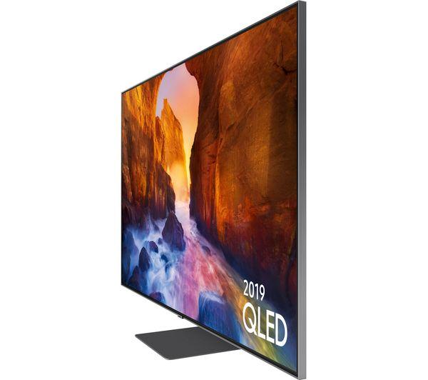"""SAMSUNG QE75Q90RATXXU 75"""" Smart 4K Ultra HD HDR QLED TV with Bixby"""