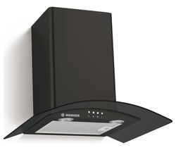 H-HOOD 300 HGM610NN Chimney Cooker Hood - Black