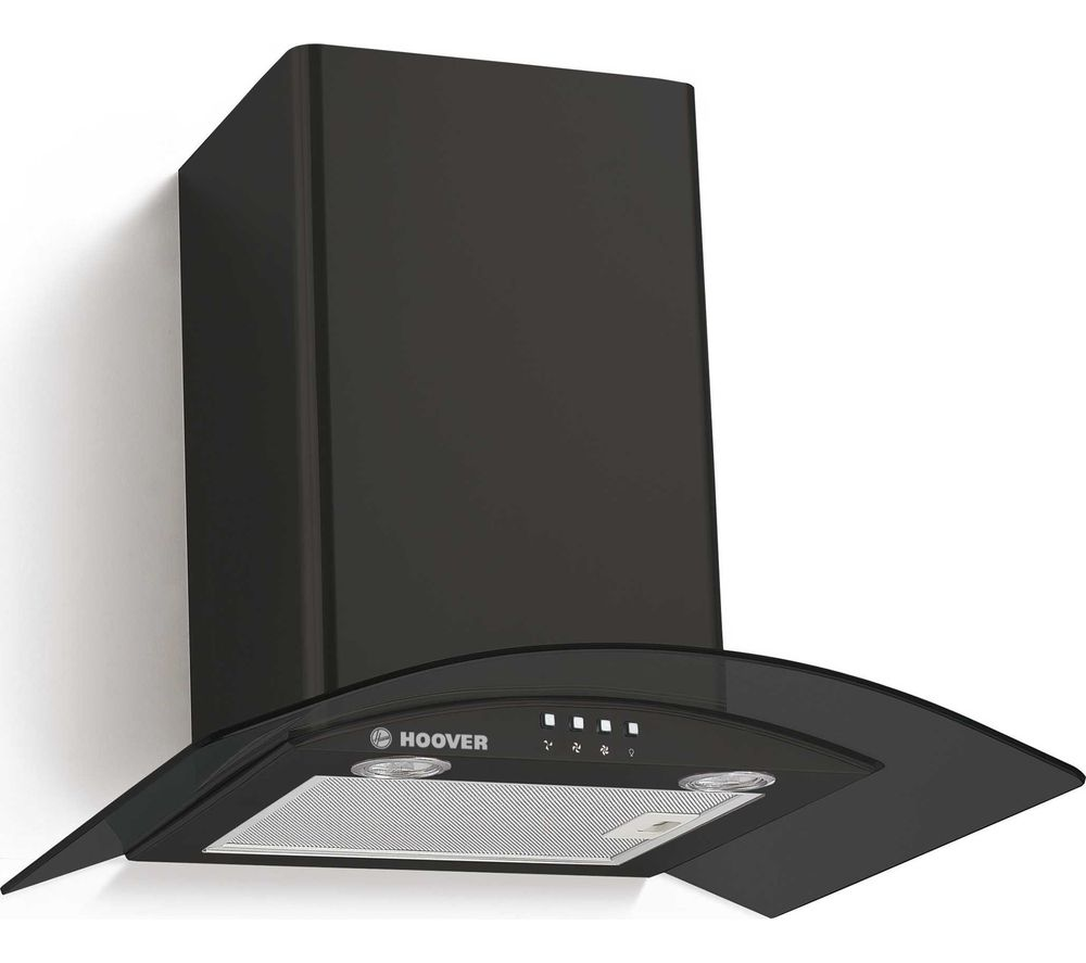 HGM610NN Chimney Cooker Hood - Black, Black
