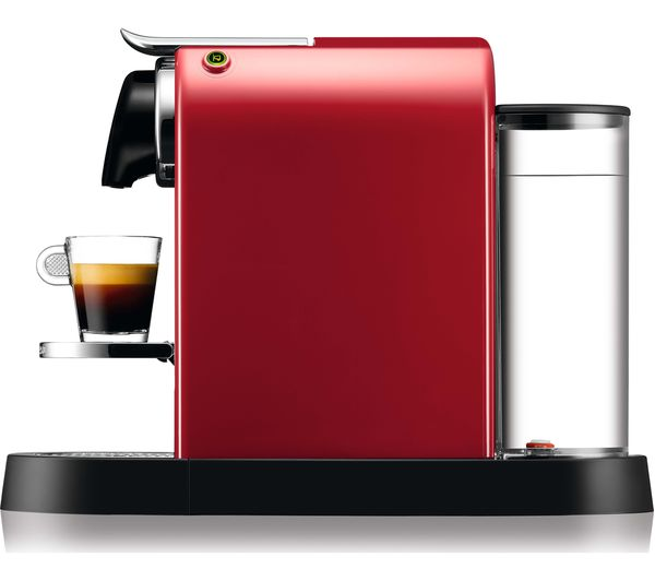 Buy NESPRESSO by Krups CitiZ XN741540 Coffee Machine - Red ...