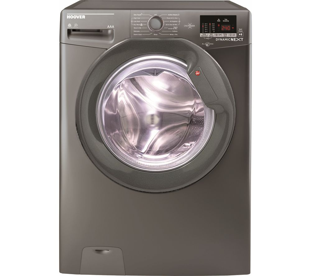 Dynamic Next WDXOC 685AGG NFC 8 kg Washer Dryer - Graphite, Graphite