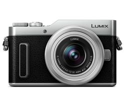Lumix DC-GX880 Mirrorless Camera with G Vario 12-32 mm f/3.5-5.6 Asph. Mega O.I.S. Lens - Silver