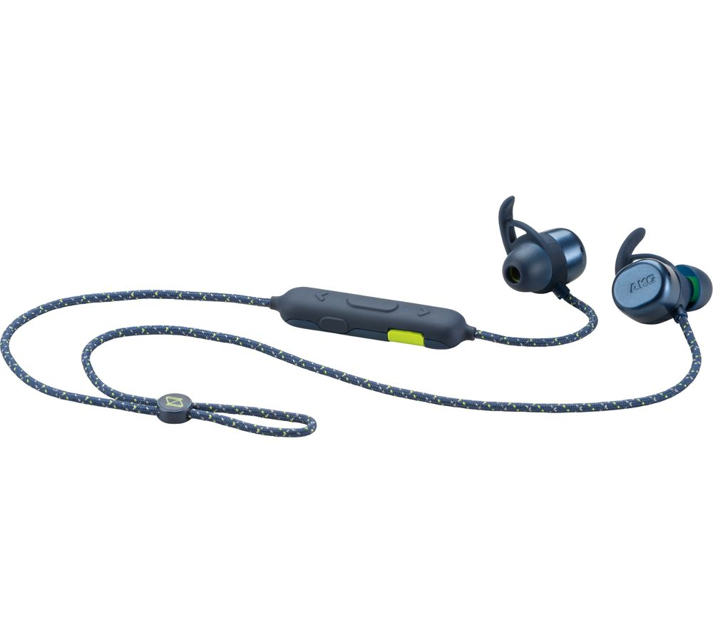 Image of AKG N200A Wireless Bluetooth Sports Earphones - Blue, Blue