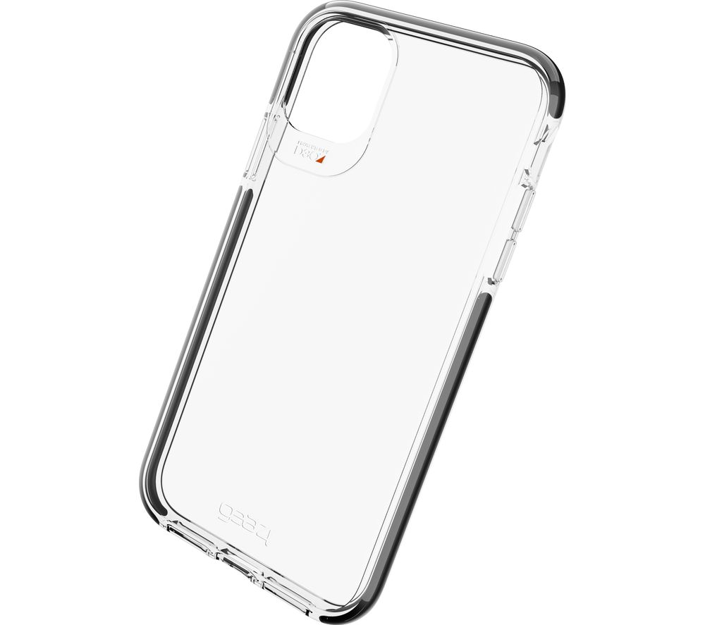 GEAR4 Piccadilly iPhone 11 Case - Clear & Black