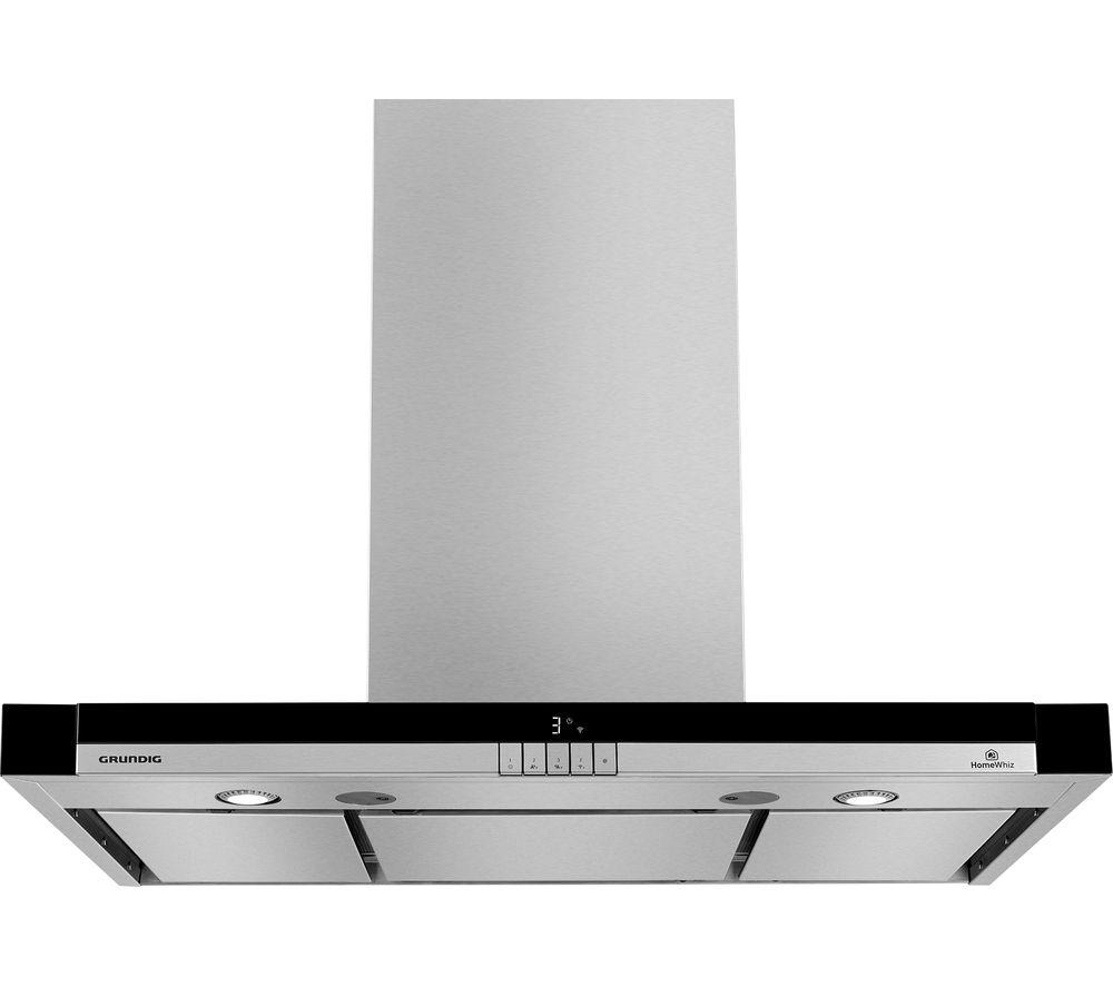 Image of GDK5777BXBH Chimney Smart Cooker Hood - Stainless Steel, Stainless Steel