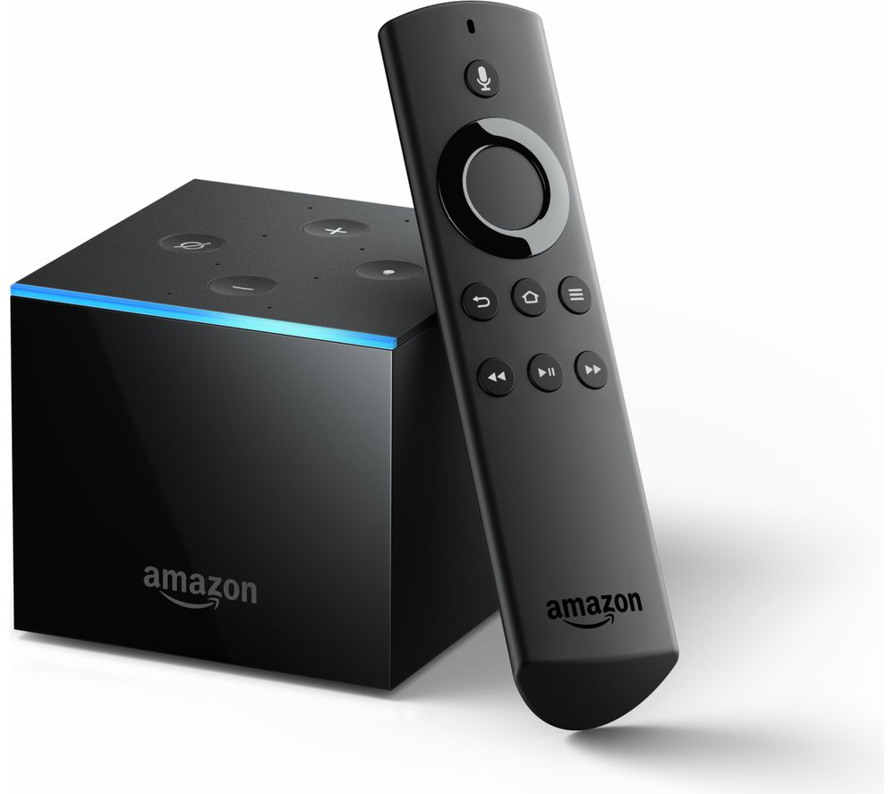 AMAZON Fire TV Cube with Alexa