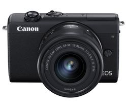 EOS M200 Mirrorless Camera with EF-M 15-45 mm f/3.5-6.3 IS STM Lens