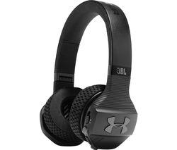 JBL Under Armour Sport Wireless Train Headphones - Black
