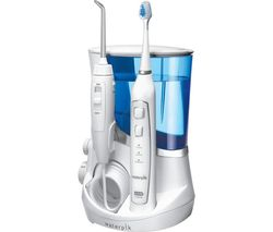 Complete Care 5.0 Electric Toothbrush & Water Flosser Set - Blue & White