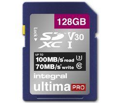 V30 Class 10 SD Memory Card - 128 GB