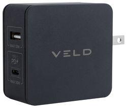 VT42FB Super-Fast 2-port USB Travel Charger