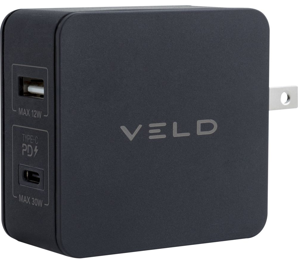 Image of VELD Super-Fast 2-port USB Travel Charger