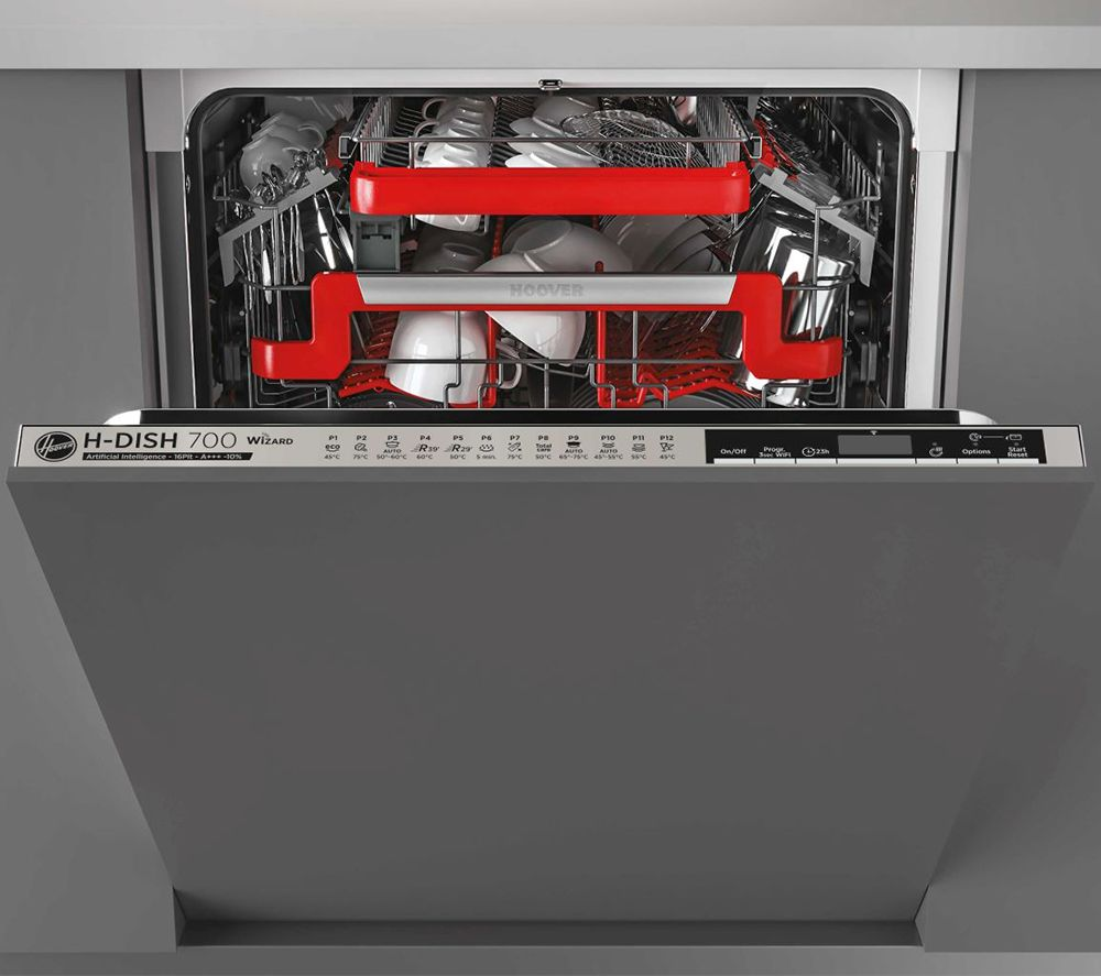 HOOVER H-DISH 700 HDIN4S613PS Full-size Fully Integrated WiFi-enabled Dishwasher