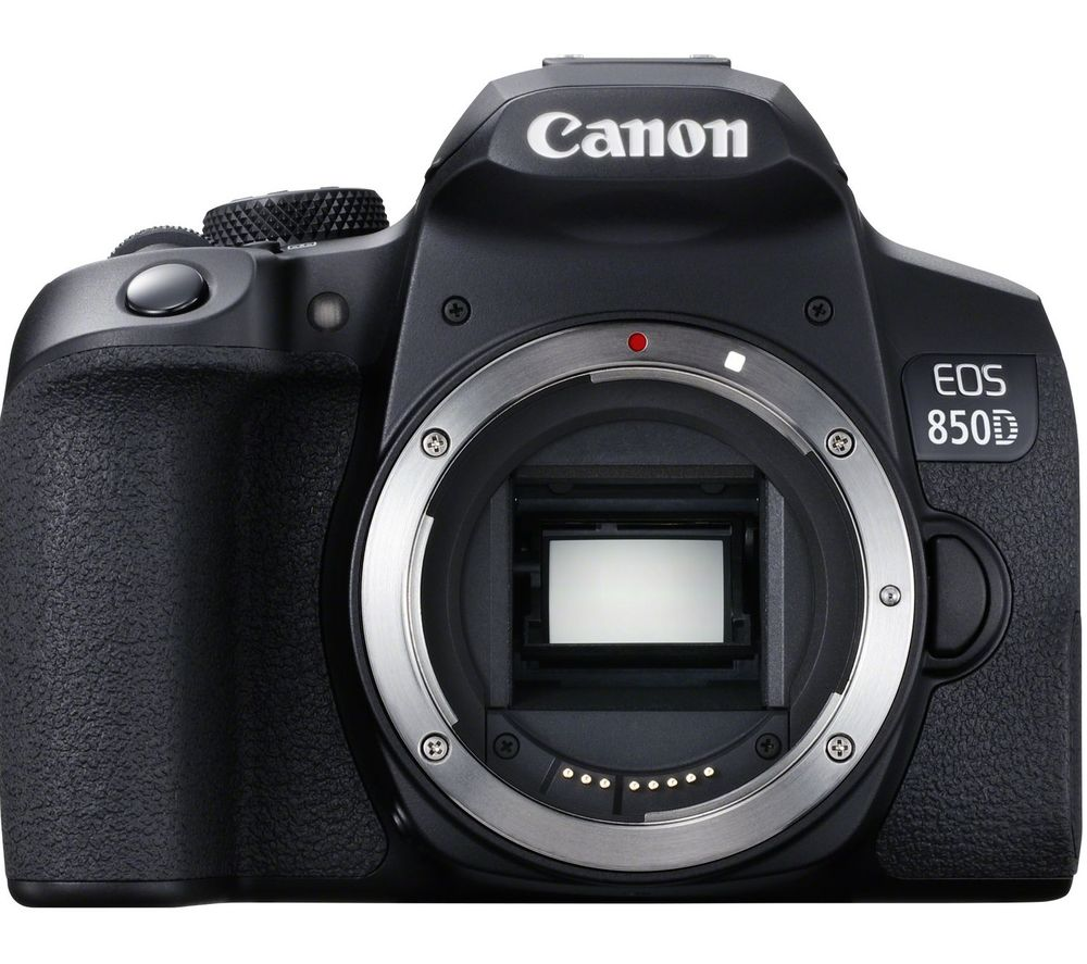 CANON EOS 850D DSLR Camera - Black, Body Only, Black