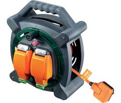 HLP2013/2IP-MP 2-Socket Cable Reel - 20 m