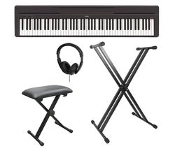 P-45 Portable Digital Piano Bundle - Black