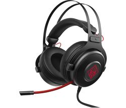 OMEN 800 Gaming Headset - Black & Red