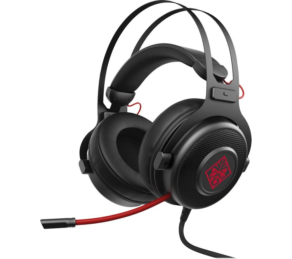 HP OMEN 800 Gaming Headset - Black & Red